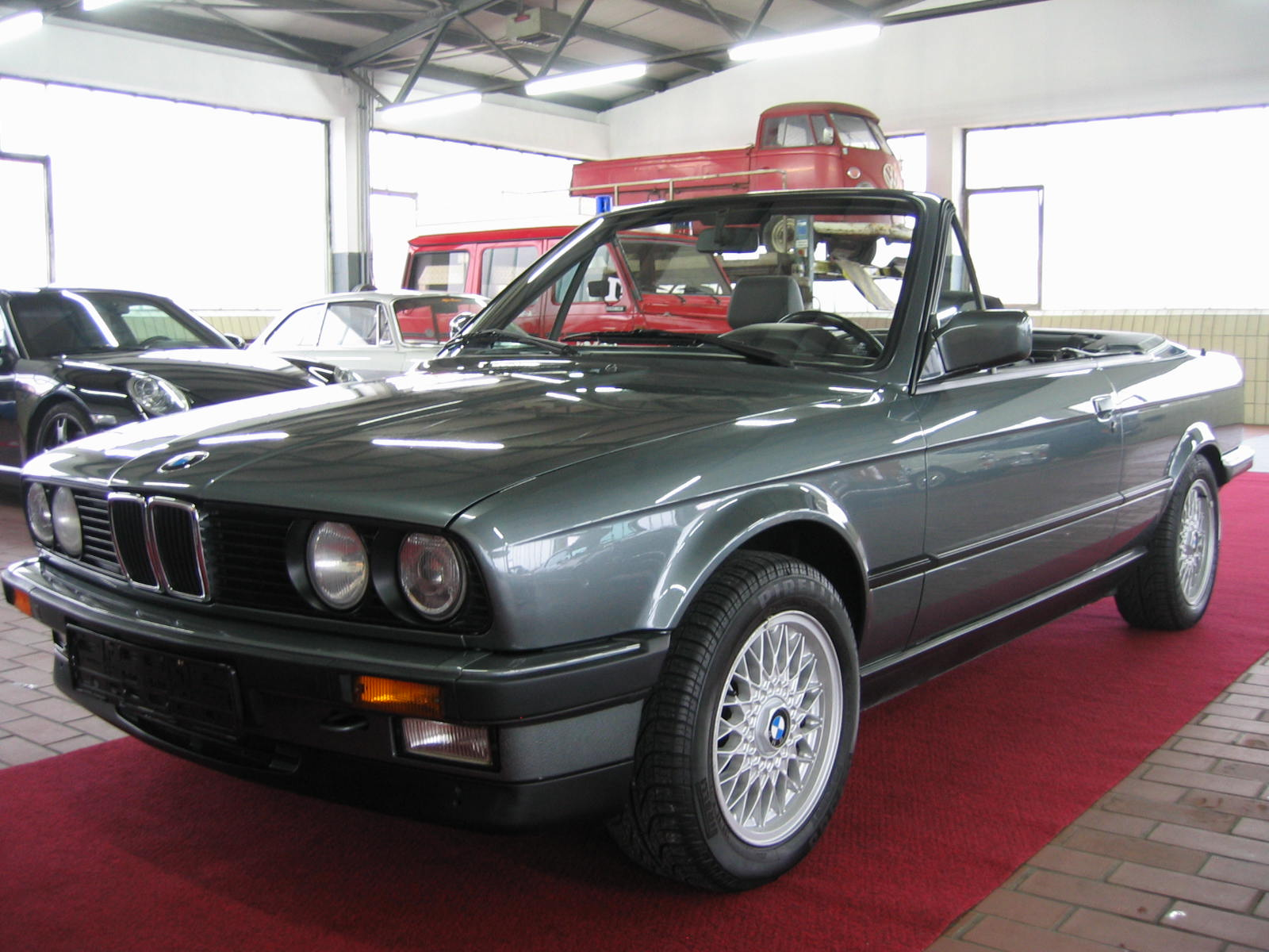 bmw 325i e30 cabrio original 73800 kilometer birgland. Black Bedroom Furniture Sets. Home Design Ideas