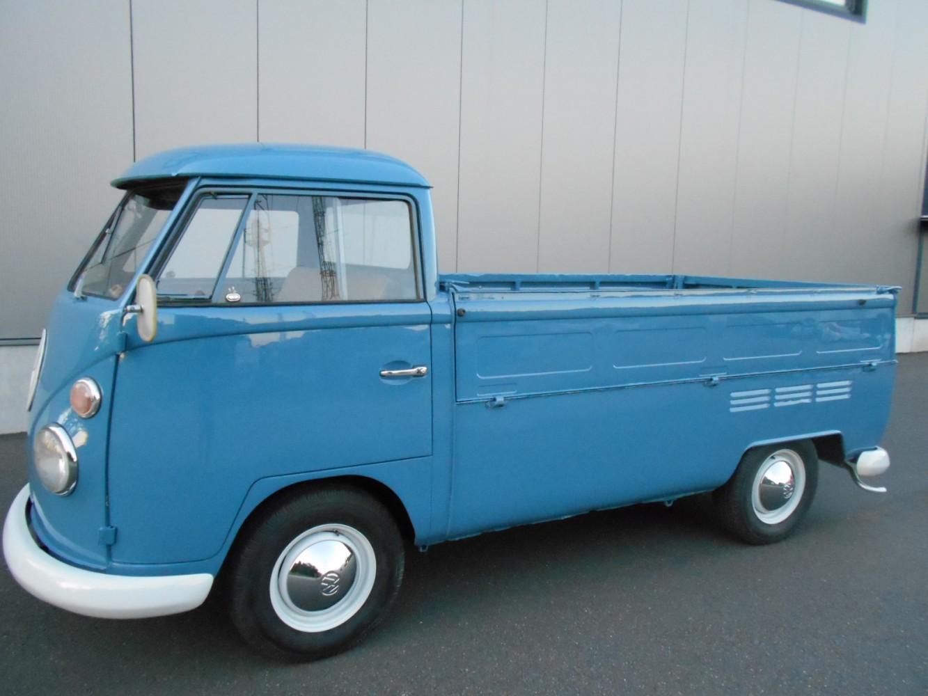volkswagen t1 pritsche deutsches fahrzeug single cab. Black Bedroom Furniture Sets. Home Design Ideas