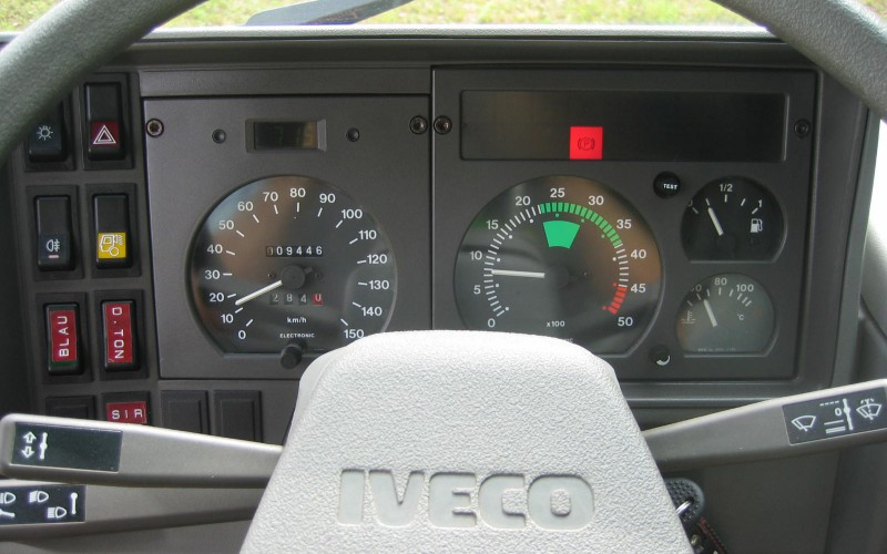 Iveco Turbo Daily 40-10 4x4 Original 9400 Kilometer