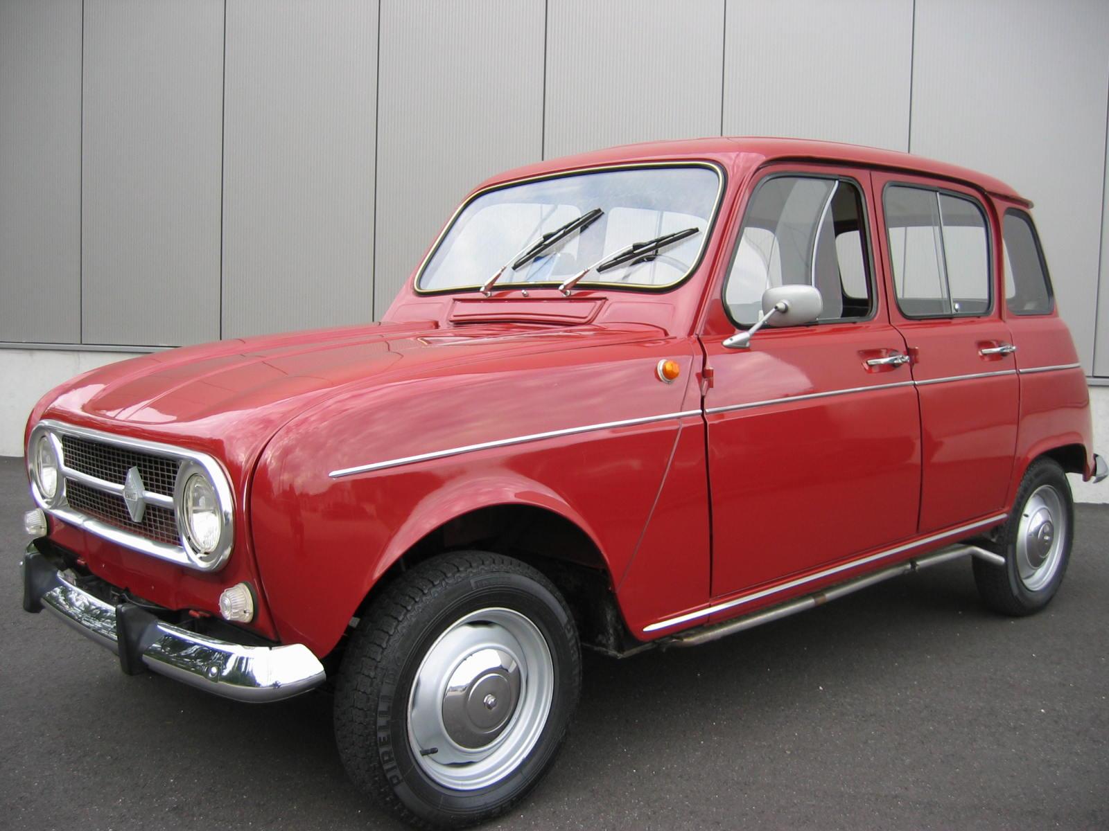 Renault R 4 Orig 60000 Km Unrestaurierter Neuwagenzustand