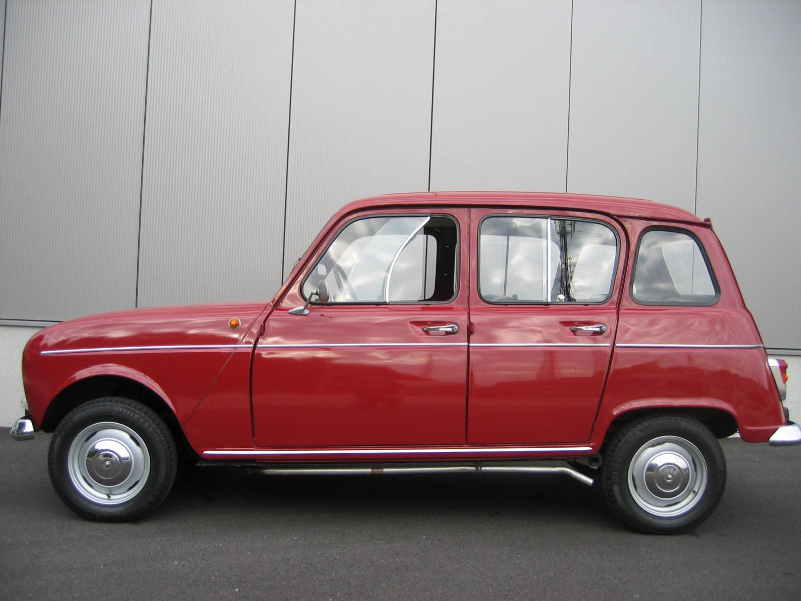 Renault R4 Rot 24 Birgland Classics