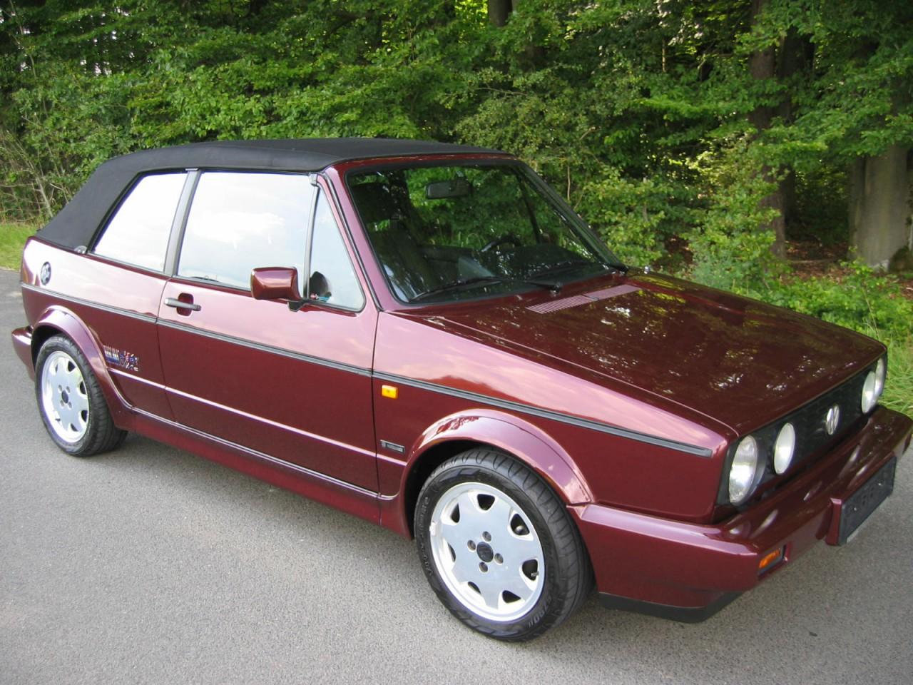volkswagen golf i cabriolet toscana original 56900 km. Black Bedroom Furniture Sets. Home Design Ideas