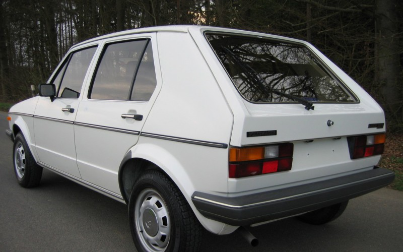 Volkswagen Golf 1 GLS 1.Hand, Original 40500 Km
