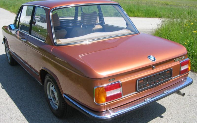 BMW 1502 Original 60600 Kilometer